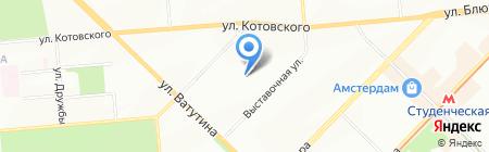ЗМТ-Энергия на карте Новосибирска