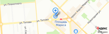 Концерн Сибири на карте Новосибирска