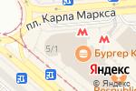 Схема проезда до компании Магазин тортов в Новосибирске