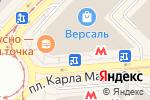 Схема проезда до компании Империя Сумок в Новосибирске
