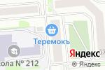 Схема проезда до компании Брандмауэр в Новосибирске