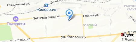 Авилон на карте Новосибирска