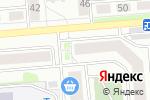 Схема проезда до компании CREA`TIF в Новосибирске