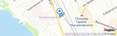 Техносиб на карте Новосибирска