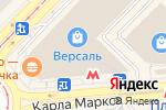 Схема проезда до компании brittel в Новосибирске
