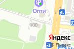 Схема проезда до компании ПрофСтиль в Новосибирске