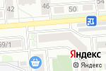 Схема проезда до компании Точка М в Новосибирске