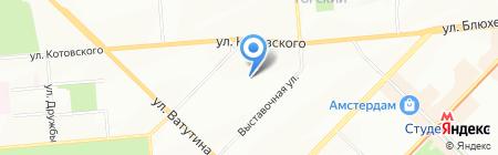 Домашняя кухня на карте Новосибирска