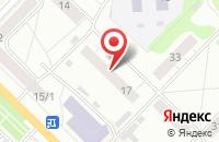 Схема проезда до компании Ясли в Новосибирске
