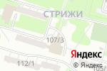 Схема проезда до компании Уют в Новосибирске