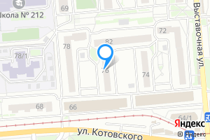 Однокомнатная квартира в Новосибирске м. Студенческая, Ленинский район, микрорайон Горский, 76