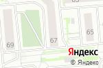 Схема проезда до компании СибЭнергоЭффект в Новосибирске