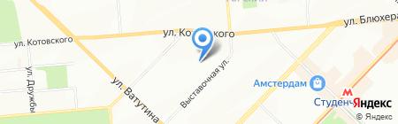СпецСнабКонтрак на карте Новосибирска