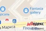 Схема проезда до компании Эйфория в Новосибирске