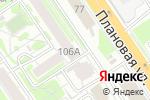 Схема проезда до компании Приемная депутата городского совета Люмина В.И. в Новосибирске