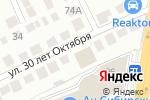 Схема проезда до компании Техно-Стиль в Новосибирске