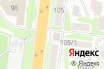 Схема проезда до компании Крепотдел в Новосибирске