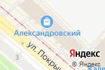 Схема проезда до компании Мастерская по пошиву, ремонту одежды и изготовлению ключей в Новосибирске