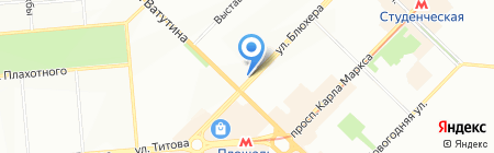 Образцовая аптека на карте Новосибирска