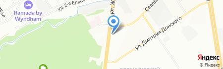 Магазин автотоваров на карте Новосибирска
