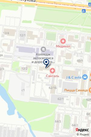 Armadashin.ru на карте Новосибирска