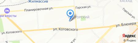 Сибэлектротрейд на карте Новосибирска