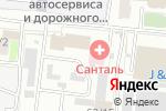 Схема проезда до компании Ланкс в Новосибирске