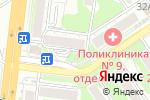 Схема проезда до компании Золотая рожь в Новосибирске