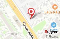 Схема проезда до компании Промэнергоснаб в Новосибирске