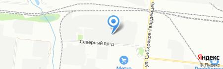 ТрансСибЛизинг на карте Новосибирска