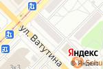 Схема проезда до компании Всё для глаз в Новосибирске