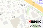 Схема проезда до компании Афина в Новосибирске