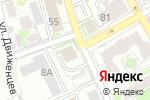 Схема проезда до компании СТРОЙ-ТРЕСТ в Новосибирске