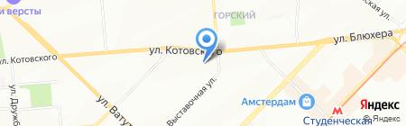 Планета Sтерео на карте Новосибирска
