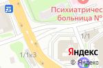 Схема проезда до компании ГОС Технологии в Новосибирске