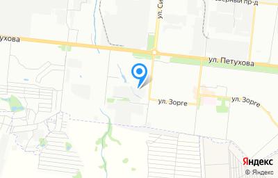 Местоположение на карте пункта техосмотра по адресу г Новосибирск, ул Сибиряков-Гвардейцев, д 68Б/1