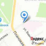 Киоск по продаже хлебобулочных изделий на карте Новосибирска