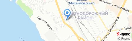 Регион на карте Новосибирска