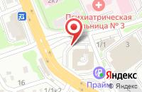 Схема проезда до компании ФПК-Логистика в Новосибирске