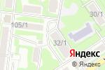 Схема проезда до компании ЭСКУЛАП-С в Новосибирске
