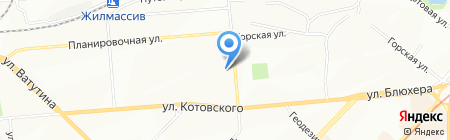 Новострой на карте Новосибирска