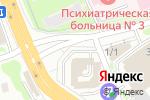 Схема проезда до компании Автопортал 54 в Новосибирске