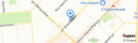 АЛЬТ ГРУПП на карте Новосибирска