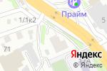 Схема проезда до компании Кадры и безопасность в Новосибирске