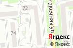 Схема проезда до компании Золотые ручки в Новосибирске