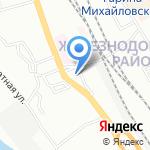 Азбука Бизнеса на карте Новосибирска