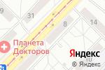 Схема проезда до компании Неаполь в Новосибирске