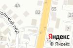 Схема проезда до компании Север в Новосибирске