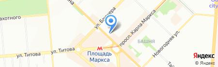 ВИПСИЛИНГ на карте Новосибирска