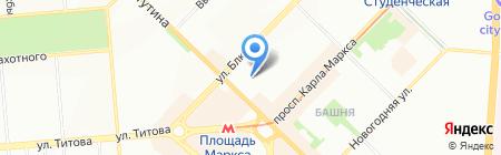 Новый век на карте Новосибирска
